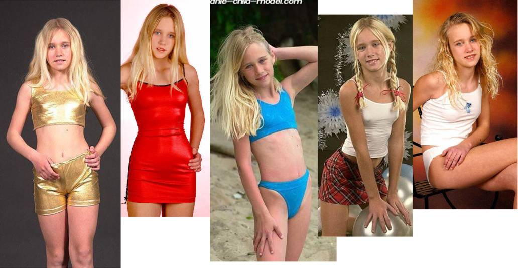 Dad Photographs Girl from 8 weeks to age 16 in a Swimsuit""