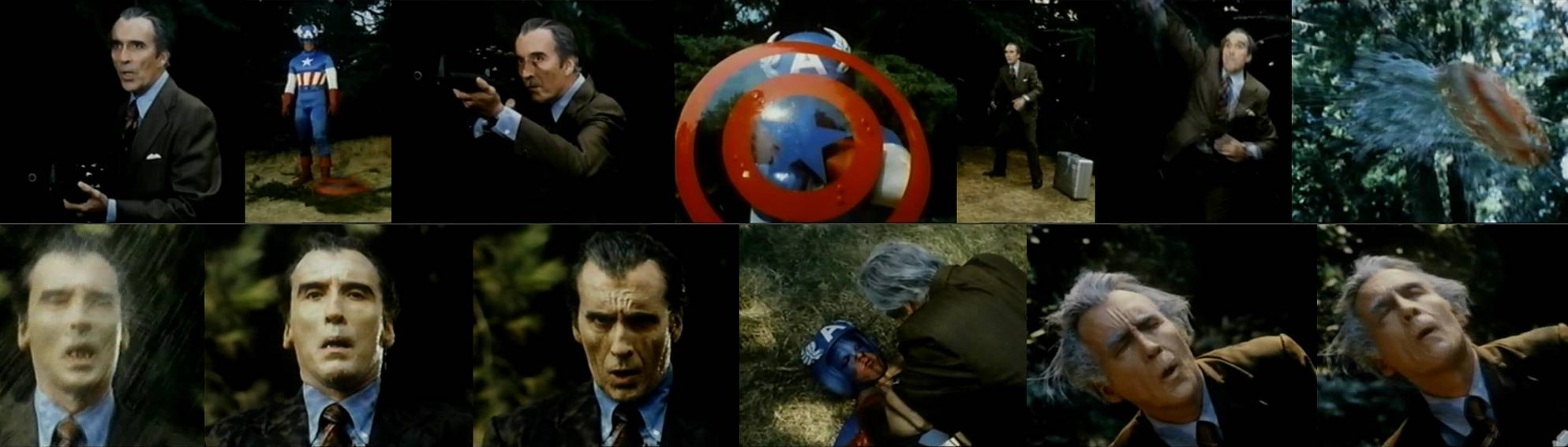Captain America 2 Death Too Soon2  Rapid adult unseen aging gas   male OA scene. Captain America