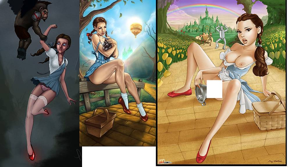 Impossible. Naked wizard of oz pics casually